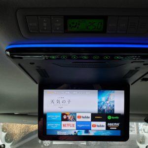 【レビュー】 XTRONS 13.3インチフリップダウンモニター【CM136HD】