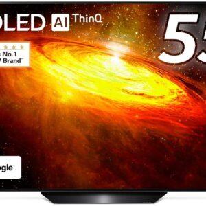 【レビュー】LGテレビ 55型 4Kチューナー内蔵 有機EL テレビ OLED 55BXPJA【おすすめ】
