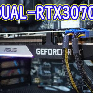 【レビュー】ASUS DUAL-RTX3070-8G 【RTX2080tiと同等性能】